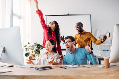 17 Things to be Happy about at Work
