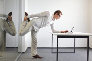 take movement breaks while working