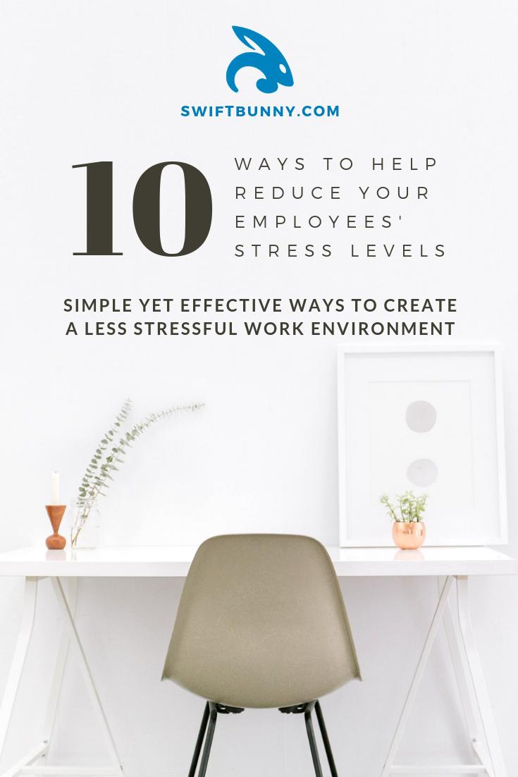 Anti Stress Workplace Tips